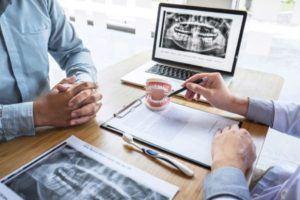 Patient receive a treatment plan for oral surgery